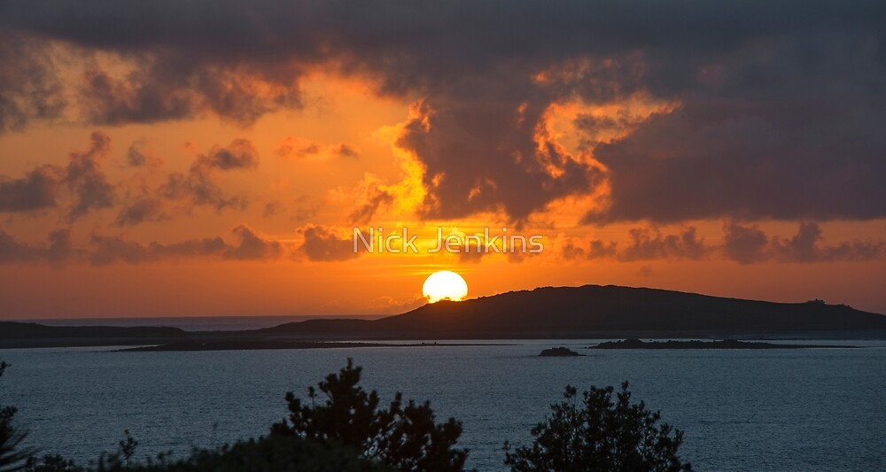 Scillies Sunset by Nick Jenkins