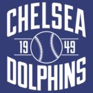 Chelsea Baseball Club - White Version by chelseadolphins