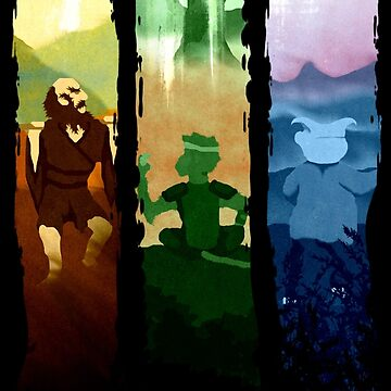 Three Disciples by Moppo