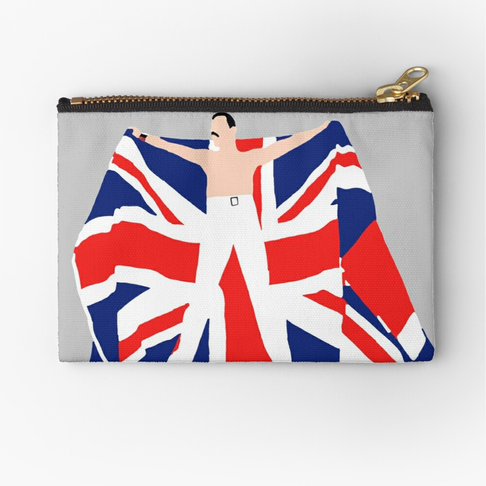 Patriotic Fred Zipper Pouch
