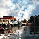 Harbour Fun in Amsterdam by Jennifer Craker