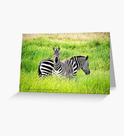Home On the Range (Montana Ranch) Greeting Card