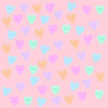 Treat People With Kindness Conversation Heart Candies by meanicolexx