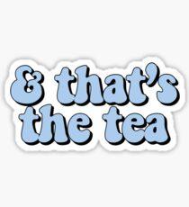 Das ist das Tea Blue Sticker