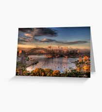 Anticipation - Moods Of A City - The HDR Experience Greeting Card