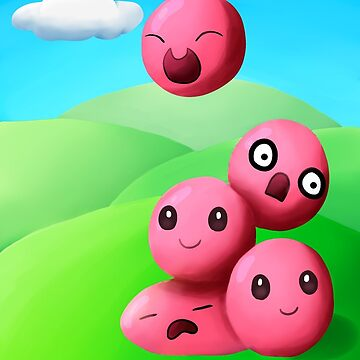 Slime Rancher Pink Slime Stack by Wavicles