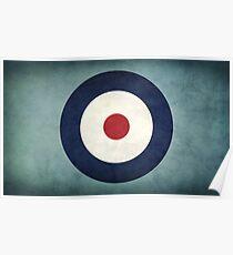 RAF Emblem Poster