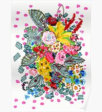 Blooming Wednesday Floral Poster