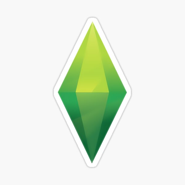 The Sims 4 - Plumbob (Green) Sticker