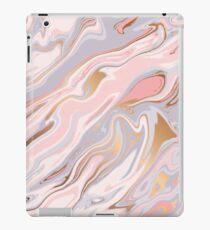 Rosa und Goldmarmor iPad-Hülle & Klebefolie