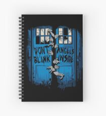The walking Angels Spiral Notebook