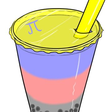 Polyamory Pride Bubble Milk Tea by JNNardacci