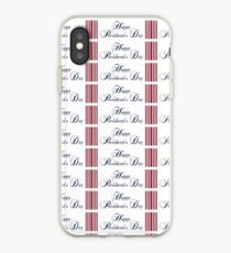 happy presidents day  iPhone Case