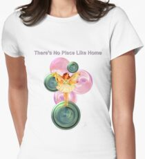 No Place Like Home Womens Fitted T-Shirt