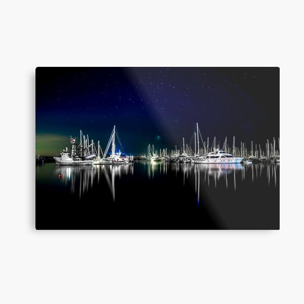 Midnight Stillness Metal Print
