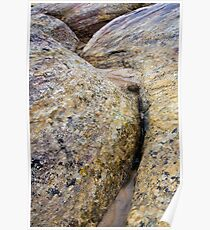 Rainsoaked Sandstone Poster