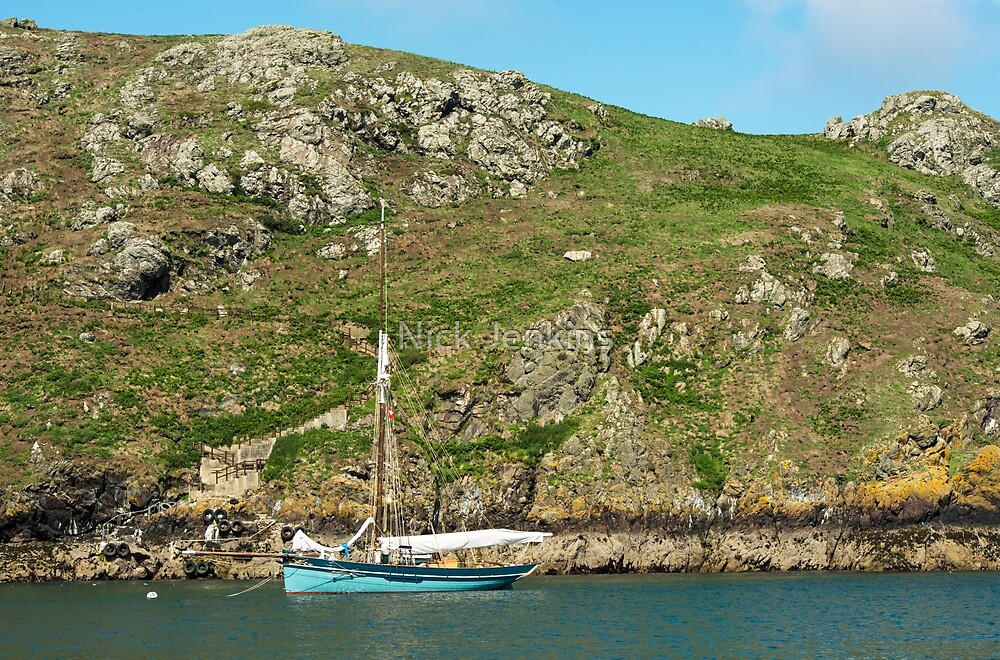 The Moored Yacht by Nick Jenkins