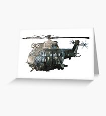 Gunship Indian Air Force Greeting Card