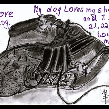 Hunde und Schuhe - Ich liebe meinen Hund von mwart