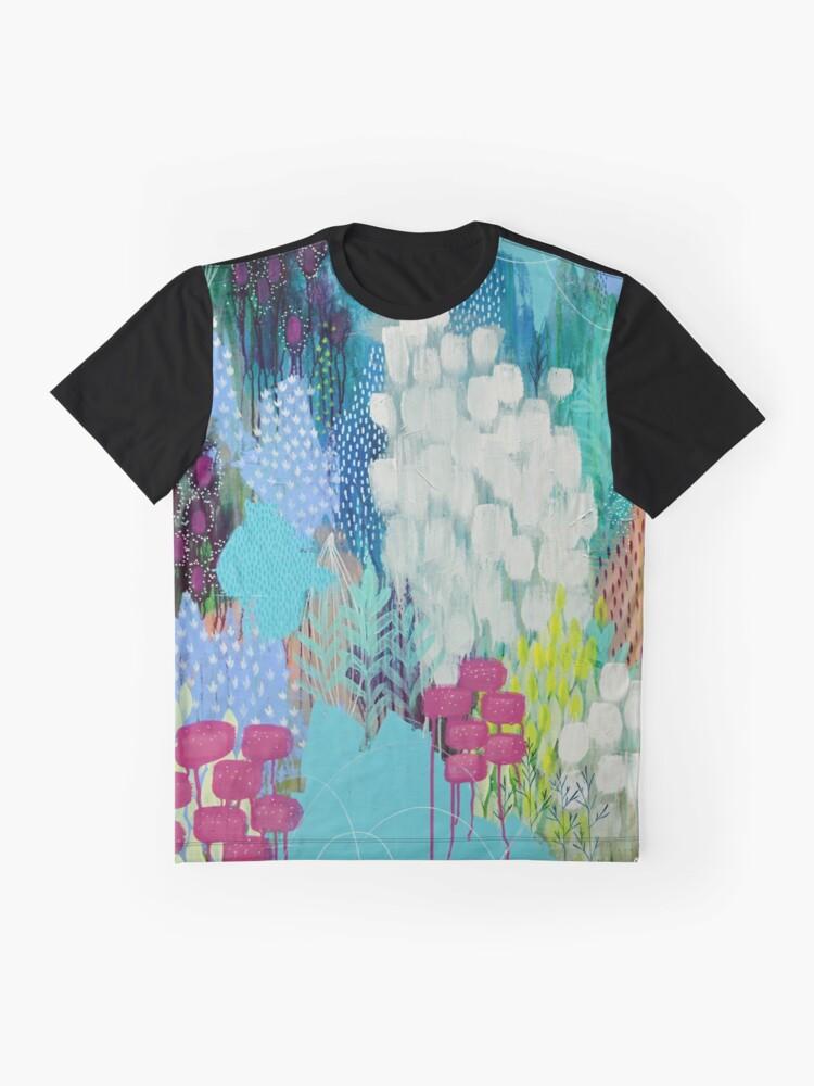 Alternative Ansicht von Freude Grafik T-Shirt