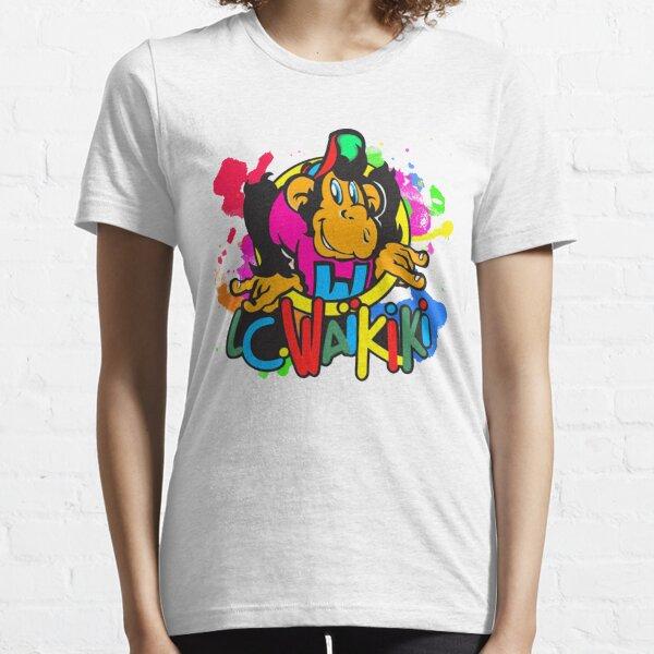 Colorful Waikiki Logo Essential T-Shirt