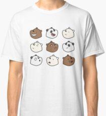 Wir nackten Bären Classic T-Shirt