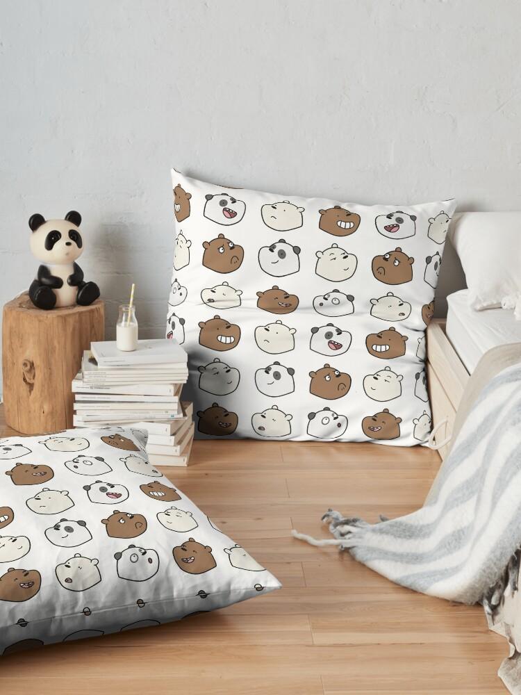 Alternate view of We Bare Bears Floor Pillow