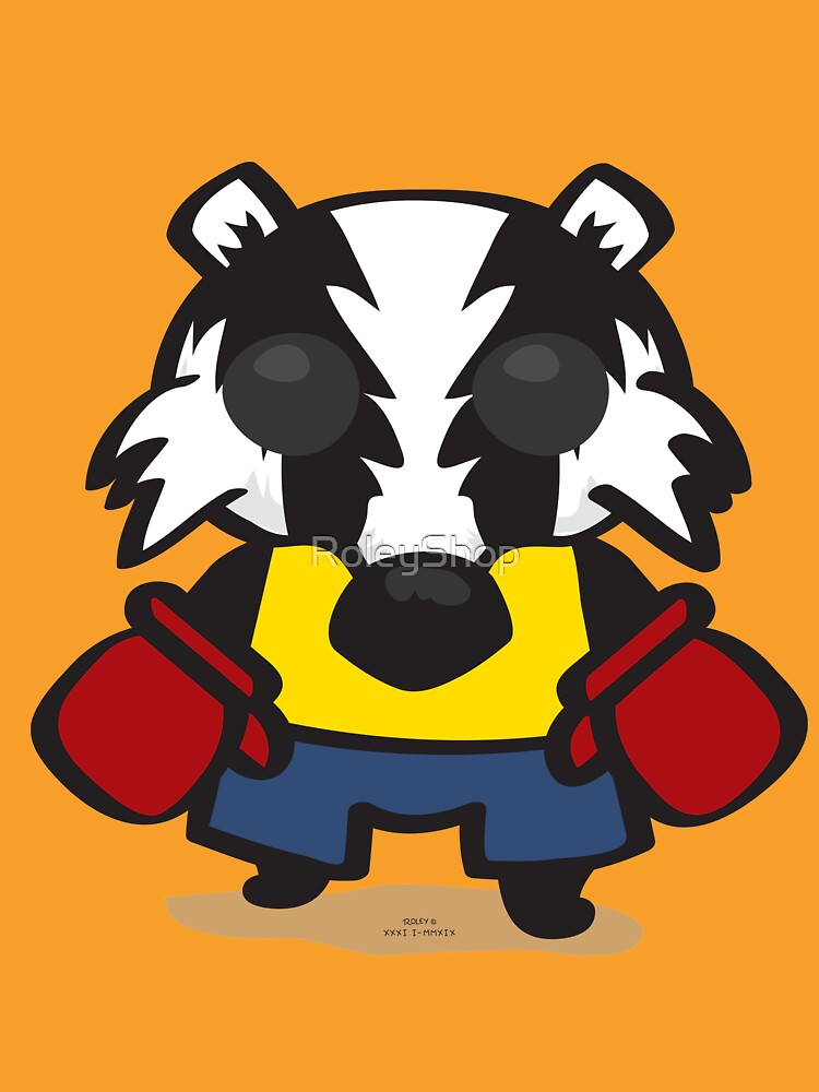 Cute Badger by Roley by RoleyShop