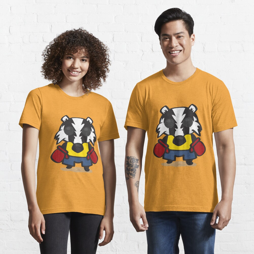 Cute Badger by Roley Essential T-Shirt