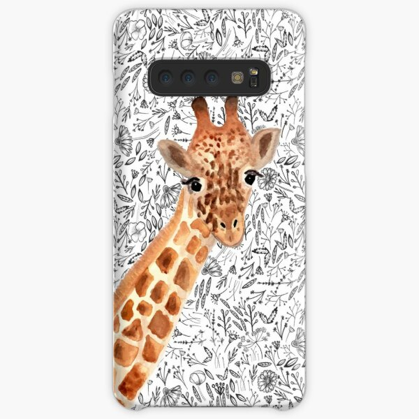Watercolor Giraffe Samsung Galaxy Snap Case