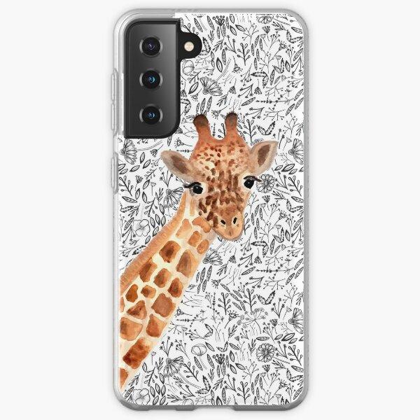 Watercolor Giraffe Samsung Galaxy Soft Case