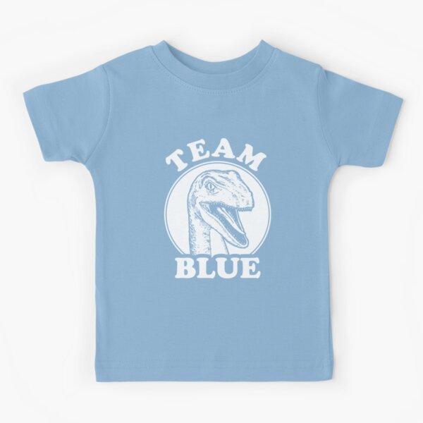 Équipe Blue Raptor T-shirt enfant
