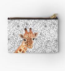 Aquarell Giraffe Studio Clutch