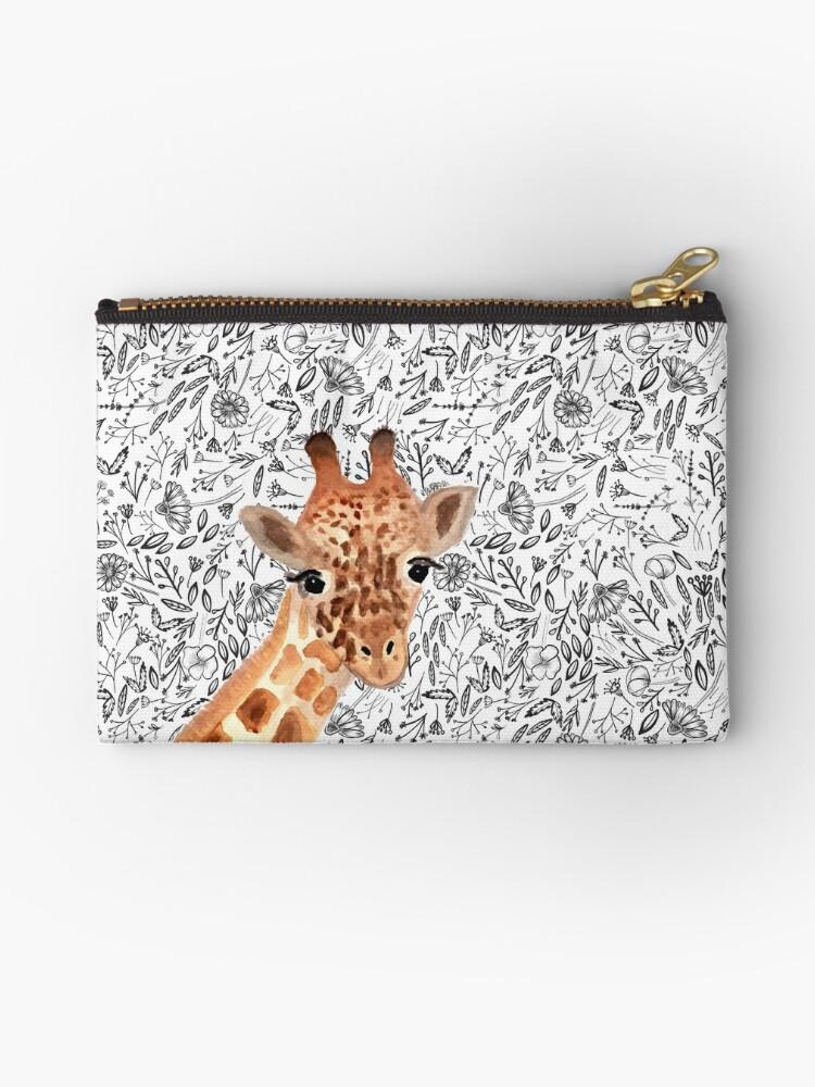 Aquarell Giraffe von Harpley Design Studio