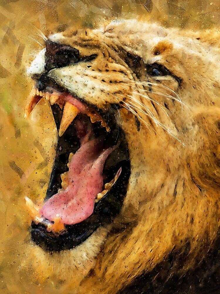 Wild Lion by ErianAndre