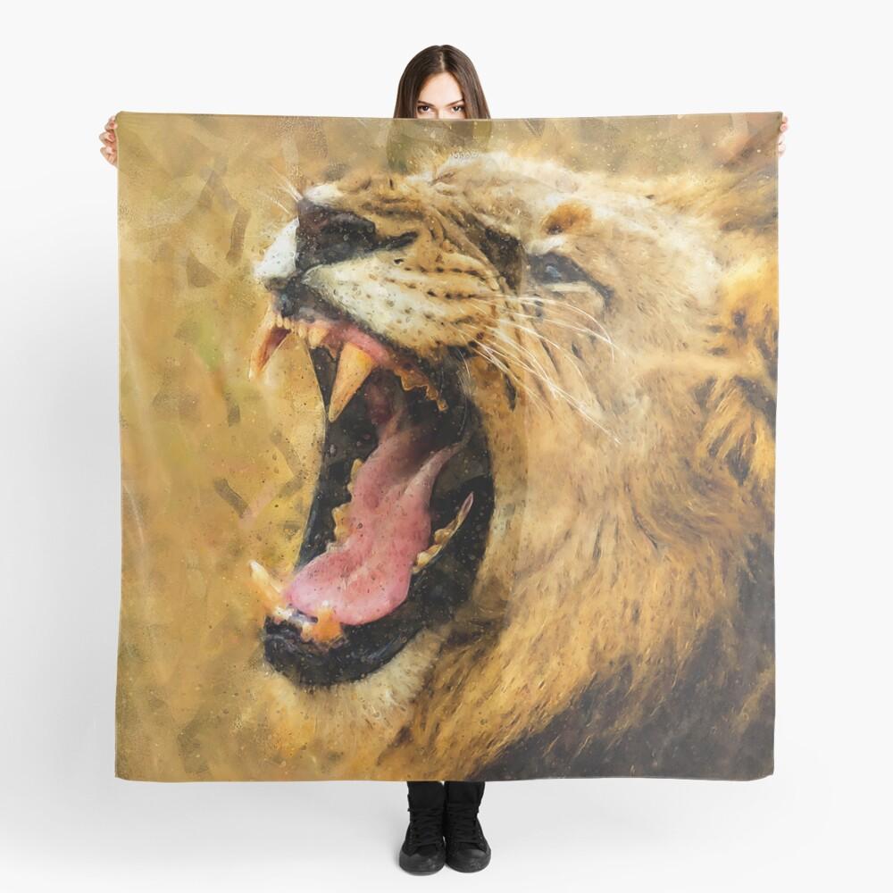 Wild Lion Scarf
