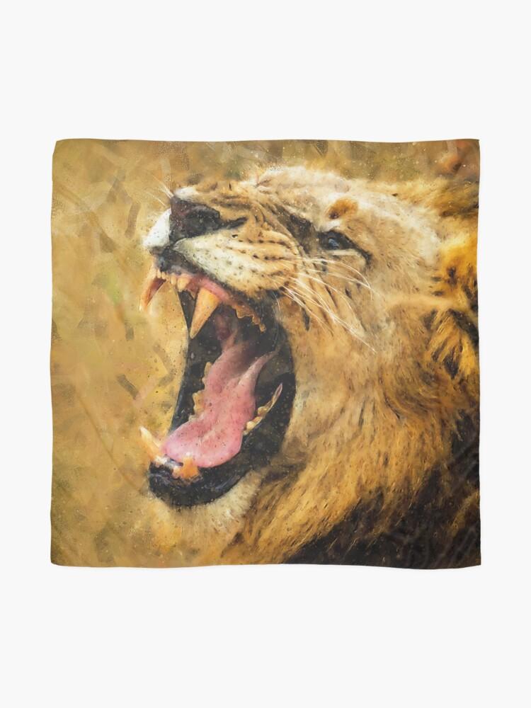 Alternate view of Wild Lion Scarf