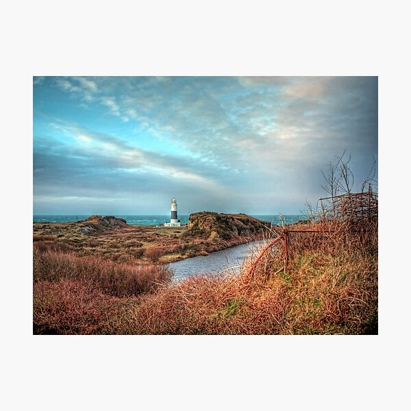Alderney's lighthouse Photographic Print