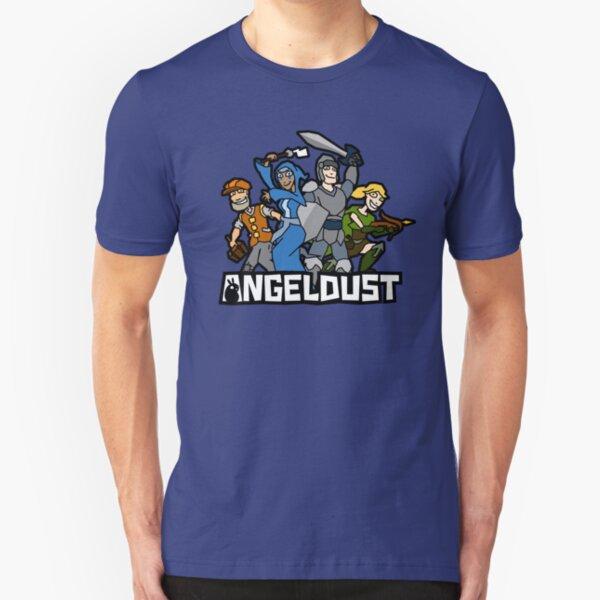 Angeldust Logo—Transparent Slim Fit T-Shirt