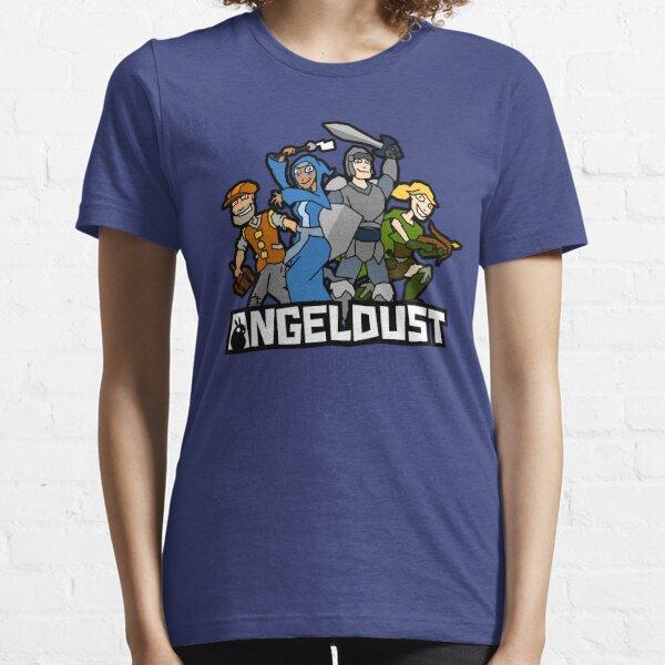 Angeldust Logo—Transparent Essential T-Shirt