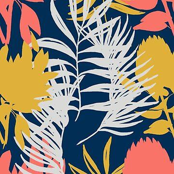 coral protea von youdesignme