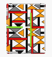 Bright Bold Modern Funky Geometric Abstract Graphic iPad Case/Skin