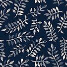 «patrón de hojas» de designersara