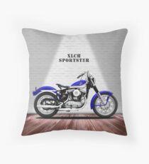 Das Vintage Sportster Motorrad Bodenkissen