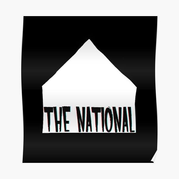The National Poster Alligator Band Shot