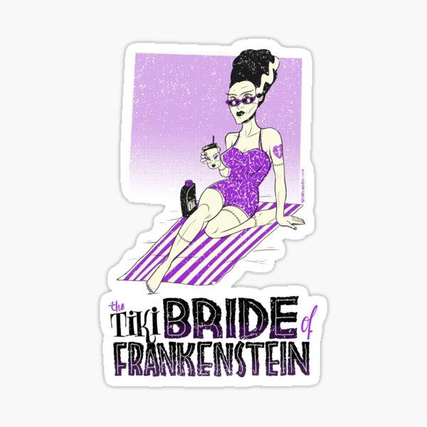 The Tiki Bride of Frankenstein Pegatina