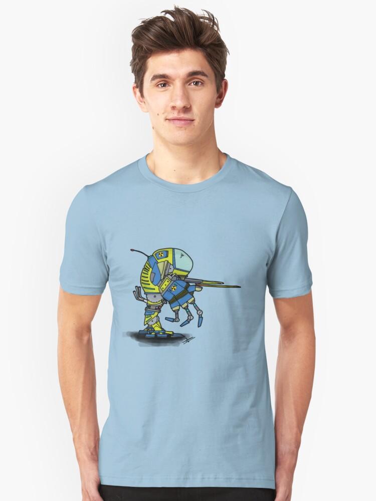 Mech Unisex T-Shirt Front