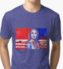 Liberty American Girl Tri-blend T-Shirt