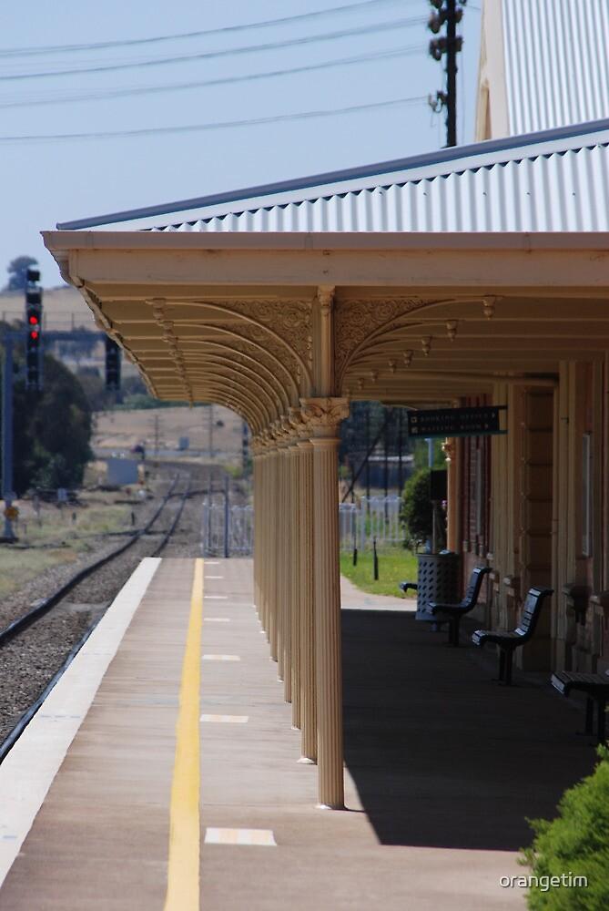 Harden Railway Station by Tim Pruyn