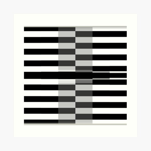 #Line #Pattern #Design #design #piano chess vector striped nopeople classical style square Art Print